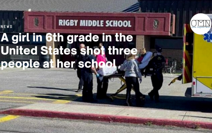 A girl in 6th grade in the United States shot three people at her school