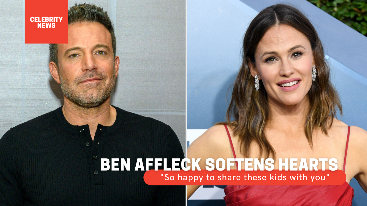 """Ben Affleck softens hearts: """"So happy to share these kids with you"""" Ben Affleck congratulated Jennifer Garner on Mother's Day and spared no compliments"""