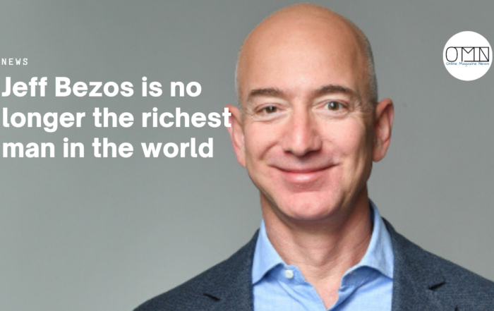 Jeff Bezos is no longer the richest man in the world