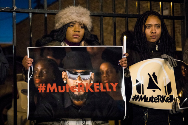 The worst kept public secret in the music industry - R. Kelly, a sexual predator who married 15-year-old Aaliyah