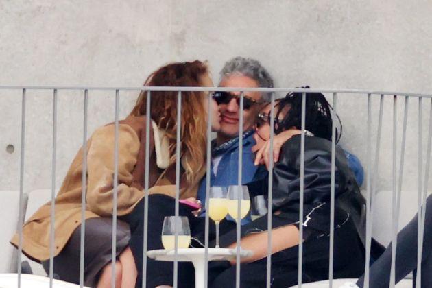 Rita Ora caught kissing the new boyfriend and his colleague