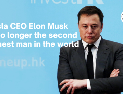 Tesla CEO Elon Musk is no longer the second richest man in the world