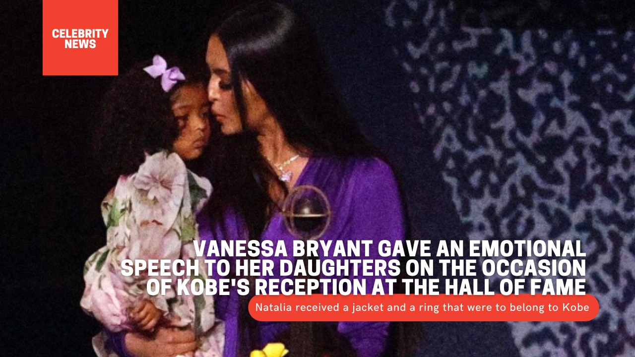 Vanessa Bryant gave an emotional speech to her daughters on the occasion of Kobe's reception at the Hall of Fame 1