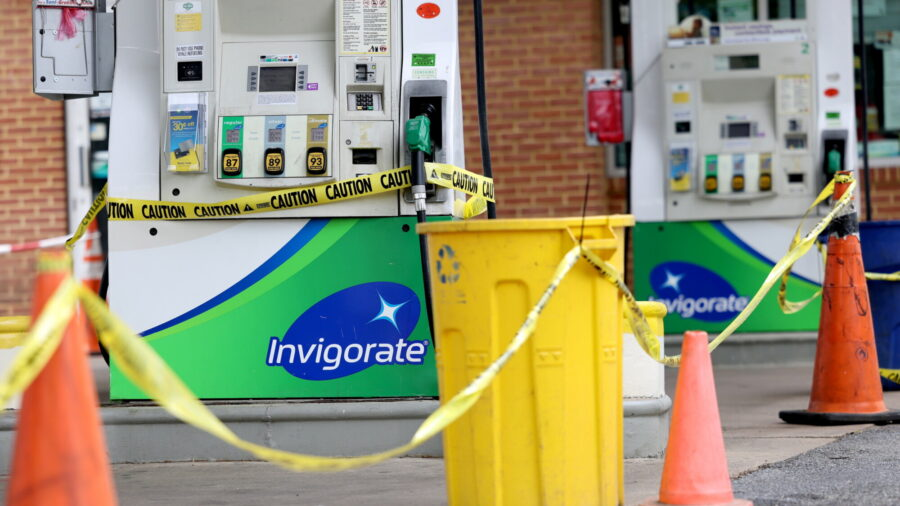 Gas supplies to the US capital are running low Washington is running out of gas