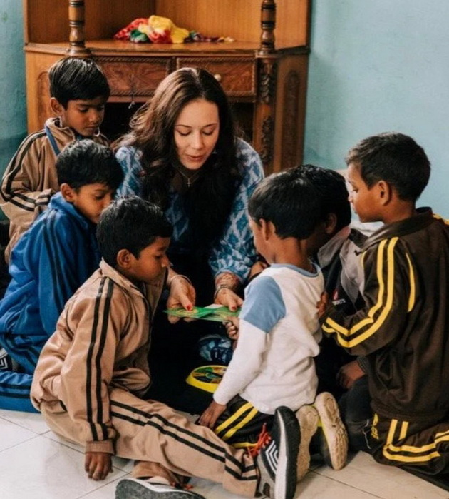 A woman from New Jersey moved to India and adopted 11 children