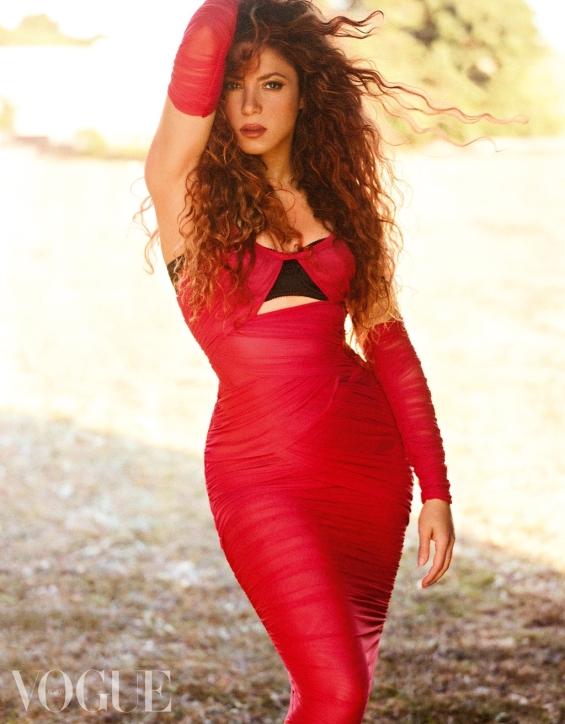 Shakira is a Latino seductress for Vogue México