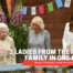 3 ladies from the Royal Family in one place: Queen Elizabeth made everyone laugh when instead of a knife, she cut the cake with a sword (video)