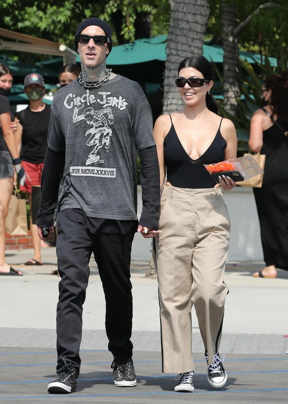 More or less bizarre: Kourtney Kardashian shocked the world with the way she shows love for her new boyfriend