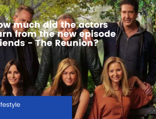How much did the actors earn from the new episode Friends – The Reunion?