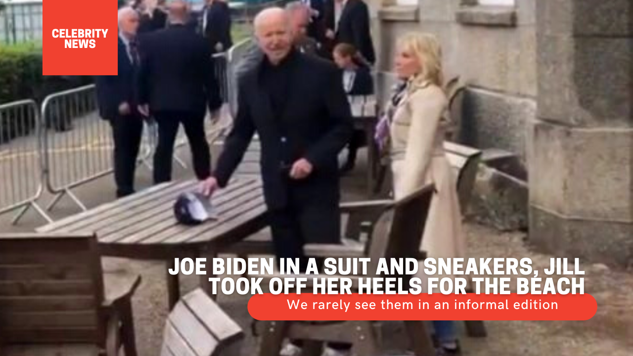 Joe Biden in a suit and sneakers, Jill took off her heels for the beach - We rarely see them in an informal edition