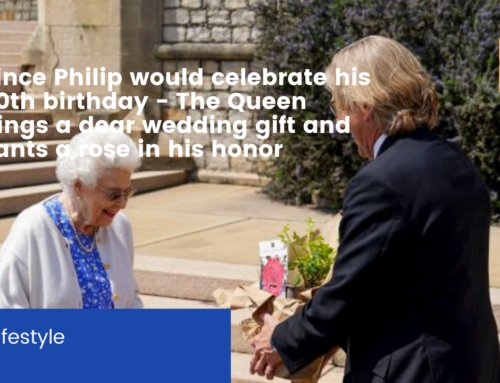 Prince Philip would celebrate his 100th birthday – The Queen brings a dear wedding gift and plants a rose in his honor