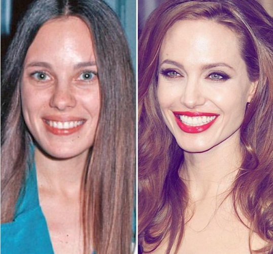 She inherited beauty from her: Angelina Jolie's mother was more beautiful than her