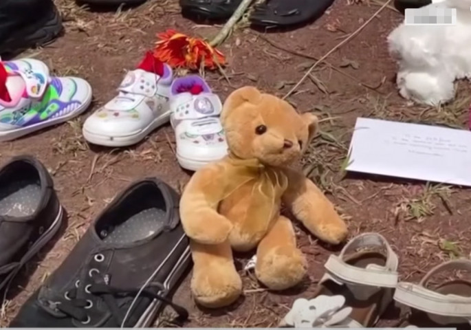 Mass grave discovered in the schoolyard in Canada (video)