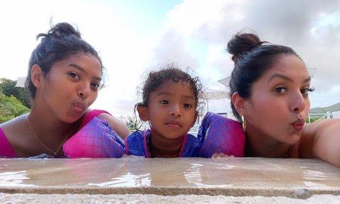 Kobe's 4 beauties: Vanessa Bryant and daughters enjoy Jamaica water antics