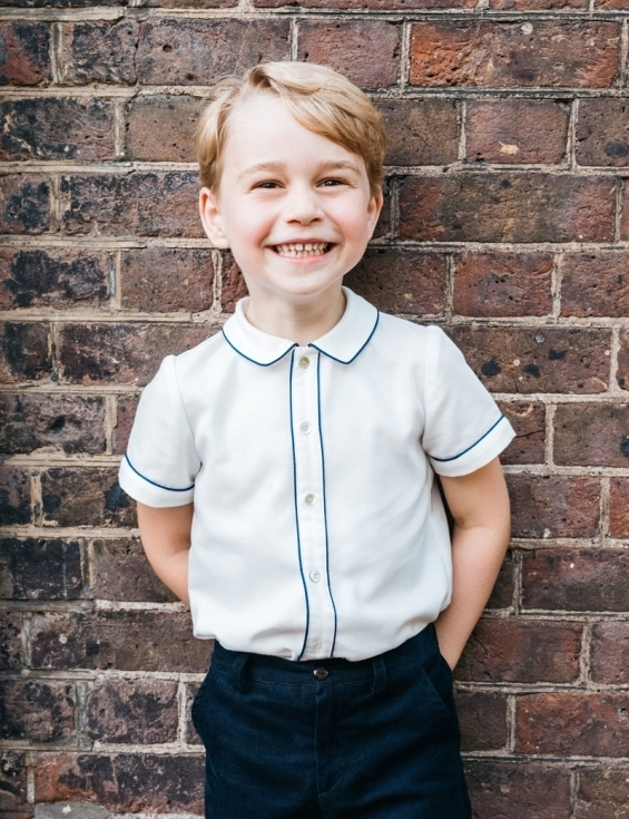 Prince George grows up: Duchess Catherine and Prince William share a photo for his 8th birthday
