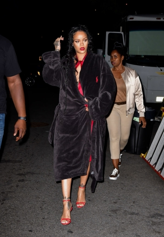 Couple in love: Rihanna is shooting a new video with her boyfriend ASAP Rocky