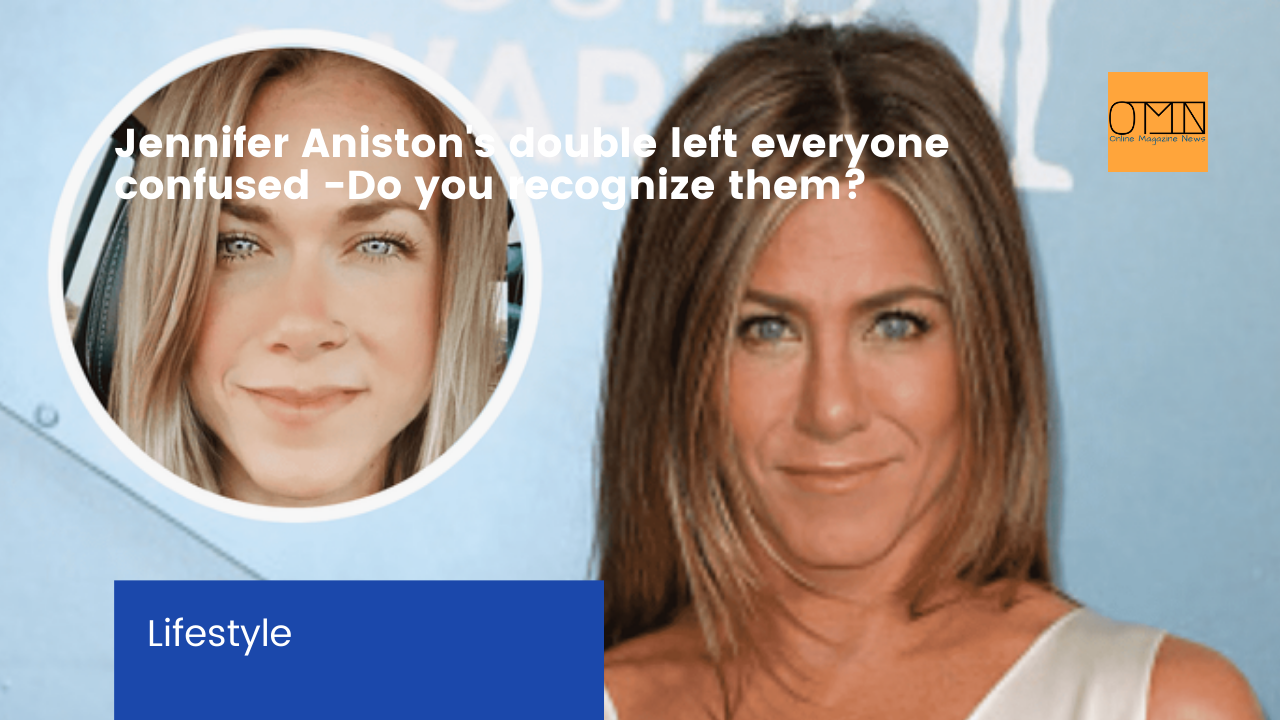 Jennifer Aniston's double left everyone confused - Do you recognize them?