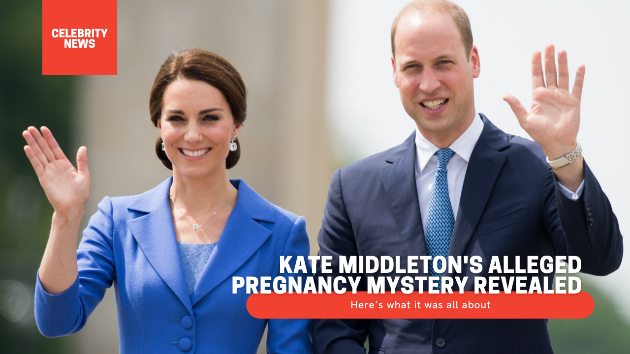 Kate Middleton's alleged pregnancy mystery revealed: Here's what it was all about