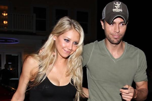 Enrique Iglesias shared a cute photo with 3-year-old twins Lucy and Nicholas on Instagram