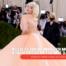 Billie Eilish as Marilyn Monroe in a huge dress at the Met Gala 2021
